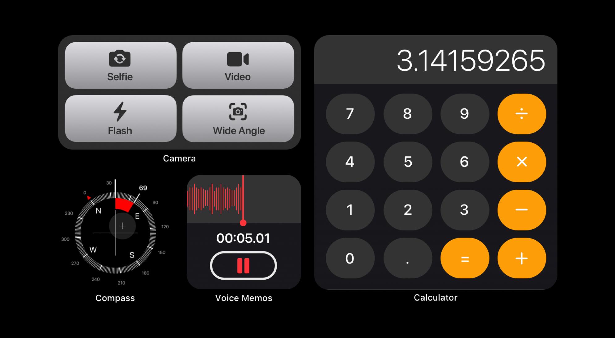 """Ngắm concept iOS 15 chuẩn bị ra mắt: Icon mới nổi bật hơn, bộ widget được cải tiến, cho khả năng tuỳ biến """"tẹt ga"""" - Ảnh 4."""