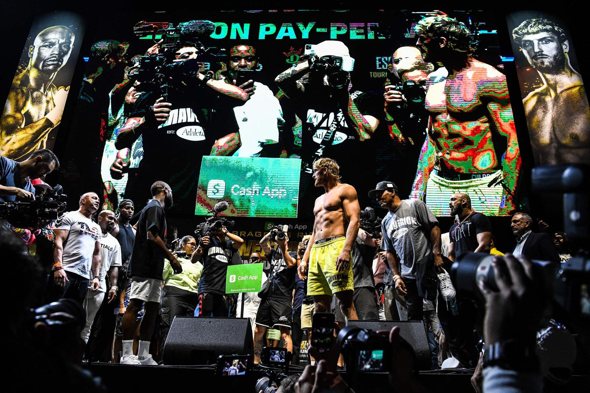 'Độc cô cầu bại' Floyd Mayweather hòa ngôi sao Youtube Logan Paul - Ảnh 13.
