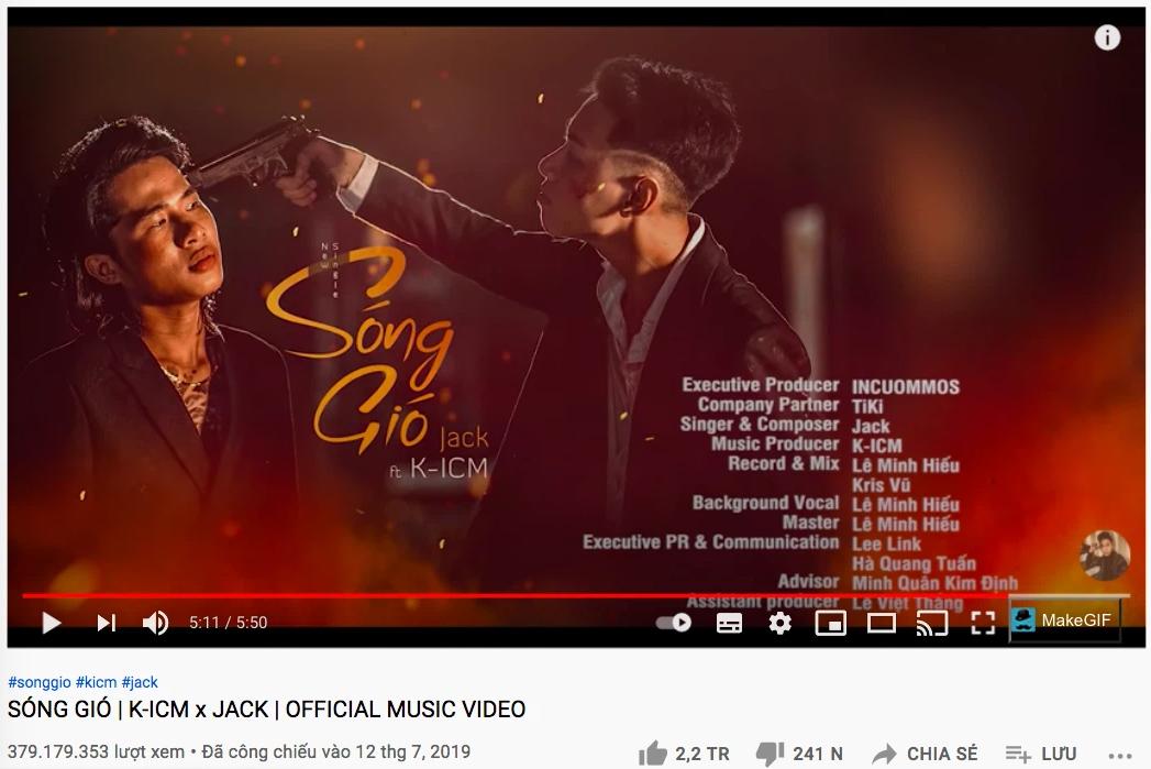 Nửa đêm, hashtag Sóng Gió là của Jack bất ngờ leo top 1 trending Twitter Việt, chuyện gì đang xảy ra? - Ảnh 3.