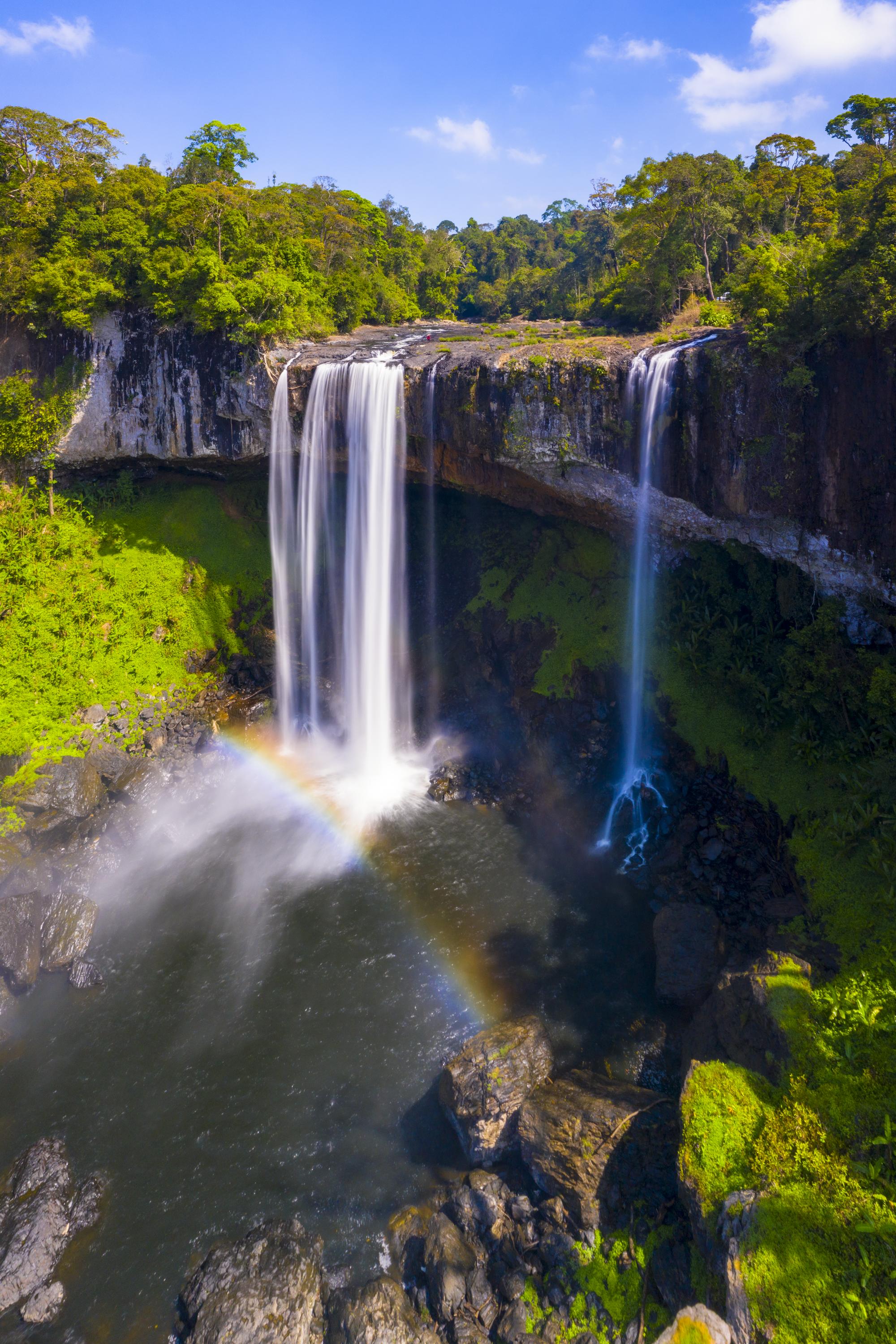Ngắm thác nước được ví như 'nàng công chúa ngủ trong rừng' ở Tây Nguyên - Ảnh 4.