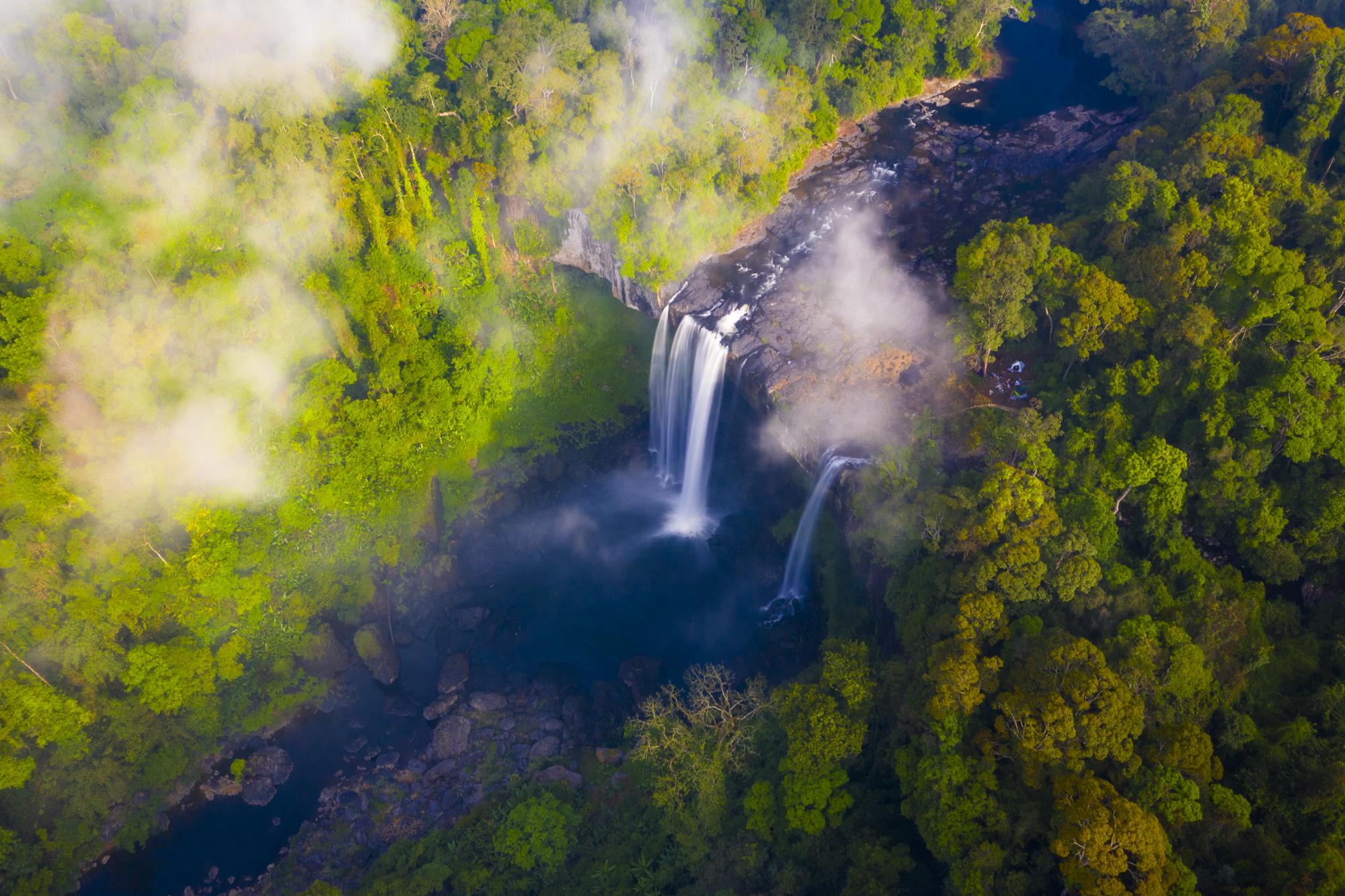 Ngắm thác nước được ví như 'nàng công chúa ngủ trong rừng' ở Tây Nguyên - Ảnh 3.