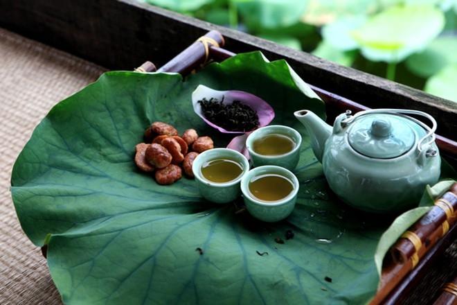 Trà ướp sen tươi - Thức uống tao nhã của người Thái Nguyên - Ảnh 4.