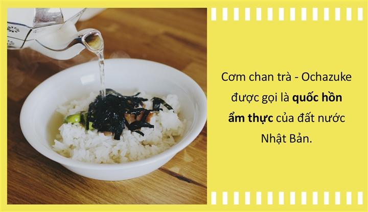 Văn hóa ẩm thực: Cơm chan trà - quốc hồn của Nhật Bản từng là món 'đuổi khách'? - Ảnh 1.