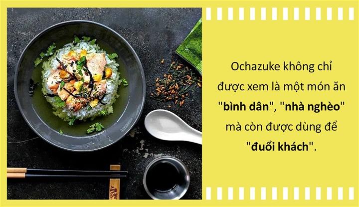 Văn hóa ẩm thực: Cơm chan trà - quốc hồn của Nhật Bản từng là món 'đuổi khách'? - Ảnh 3.