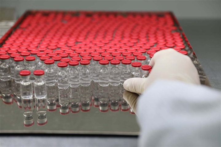 Cận cảnh quy trình gia công vaccine COVID-19 Sputnik V của Nga tại Việt Nam - Ảnh 8.