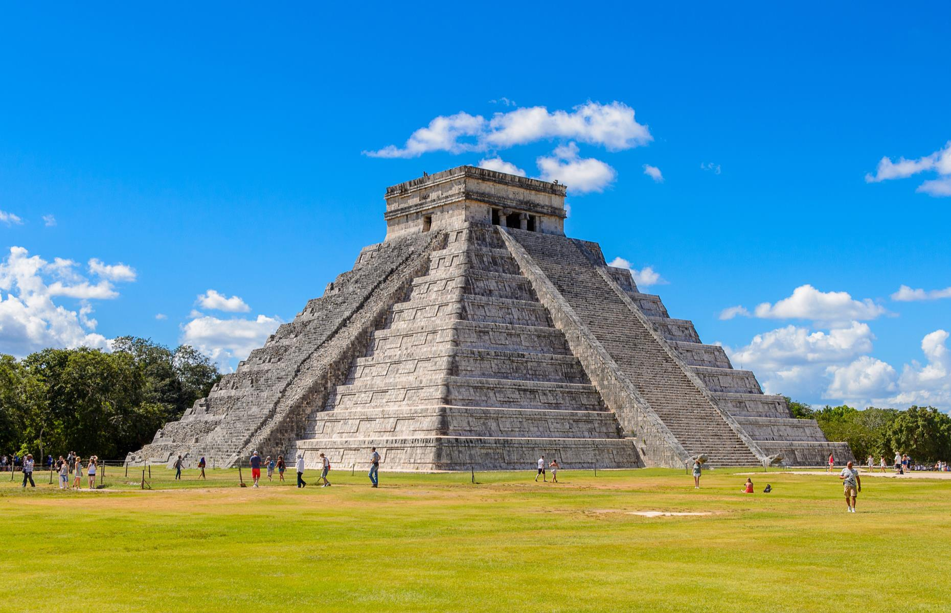 8 công trình kiến trúc kim tự tháp độc đáo - Ảnh 4.