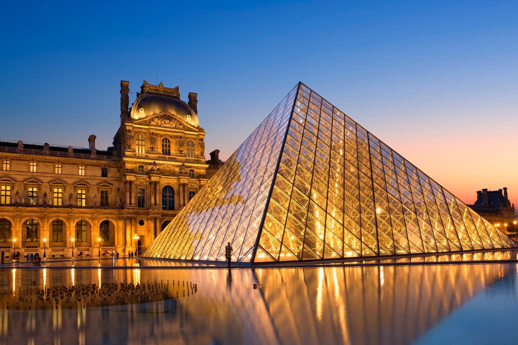 8 công trình kiến trúc kim tự tháp độc đáo - Ảnh 3.