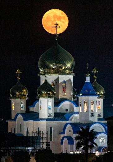 15 bức ảnh Trăng Hươu tháng 7 tuyệt đẹp trên khắp thế giới - Ảnh 1.