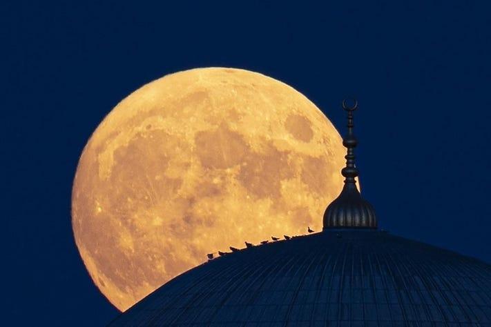 15 bức ảnh Trăng Hươu tháng 7 tuyệt đẹp trên khắp thế giới - Ảnh 4.