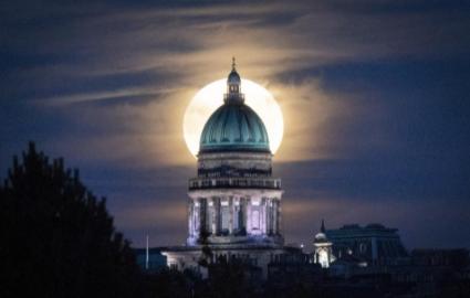 15 bức ảnh Trăng Hươu tháng 7 tuyệt đẹp trên khắp thế giới - Ảnh 7.