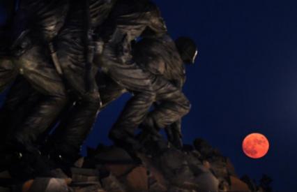 15 bức ảnh Trăng Hươu tháng 7 tuyệt đẹp trên khắp thế giới - Ảnh 12.