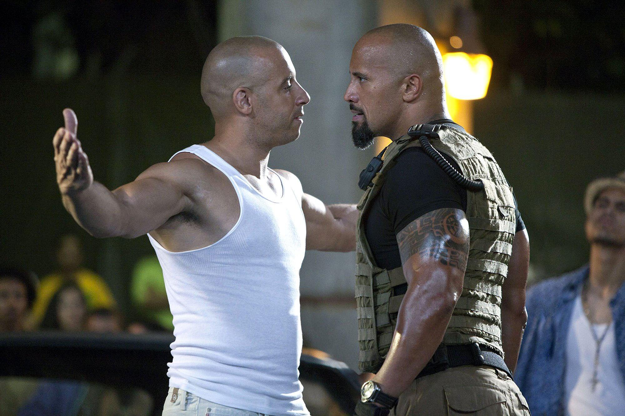 Mối thù giữa The Rock và Vin Diesel - Ảnh 1.