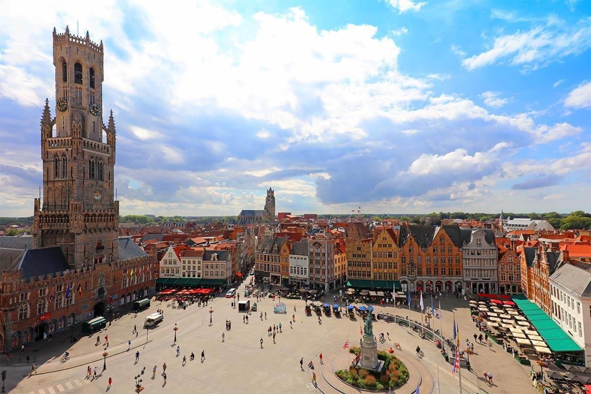 Một ngày khám phá thành phố đẹp nhất nước Bỉ - Ảnh 5.