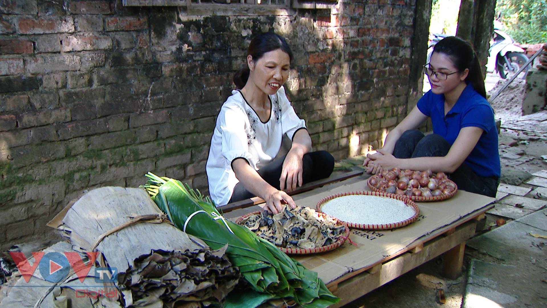 Bánh tẻ Phú Nghi - Thức quà dân dã từ thành cổ Sơn Tây - Ảnh 2.