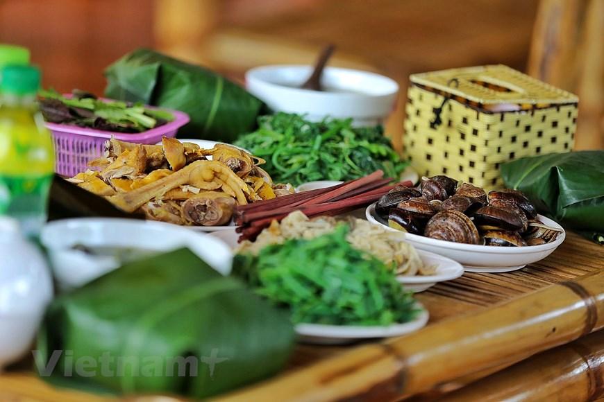 Độc đáo văn hóa ẩm thực dân dã ở xứ Mường Hòa Bình - Ảnh 1.