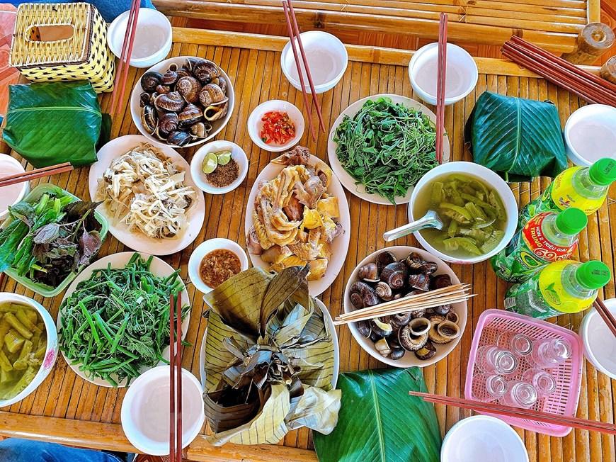 Độc đáo văn hóa ẩm thực dân dã ở xứ Mường Hòa Bình - Ảnh 2.