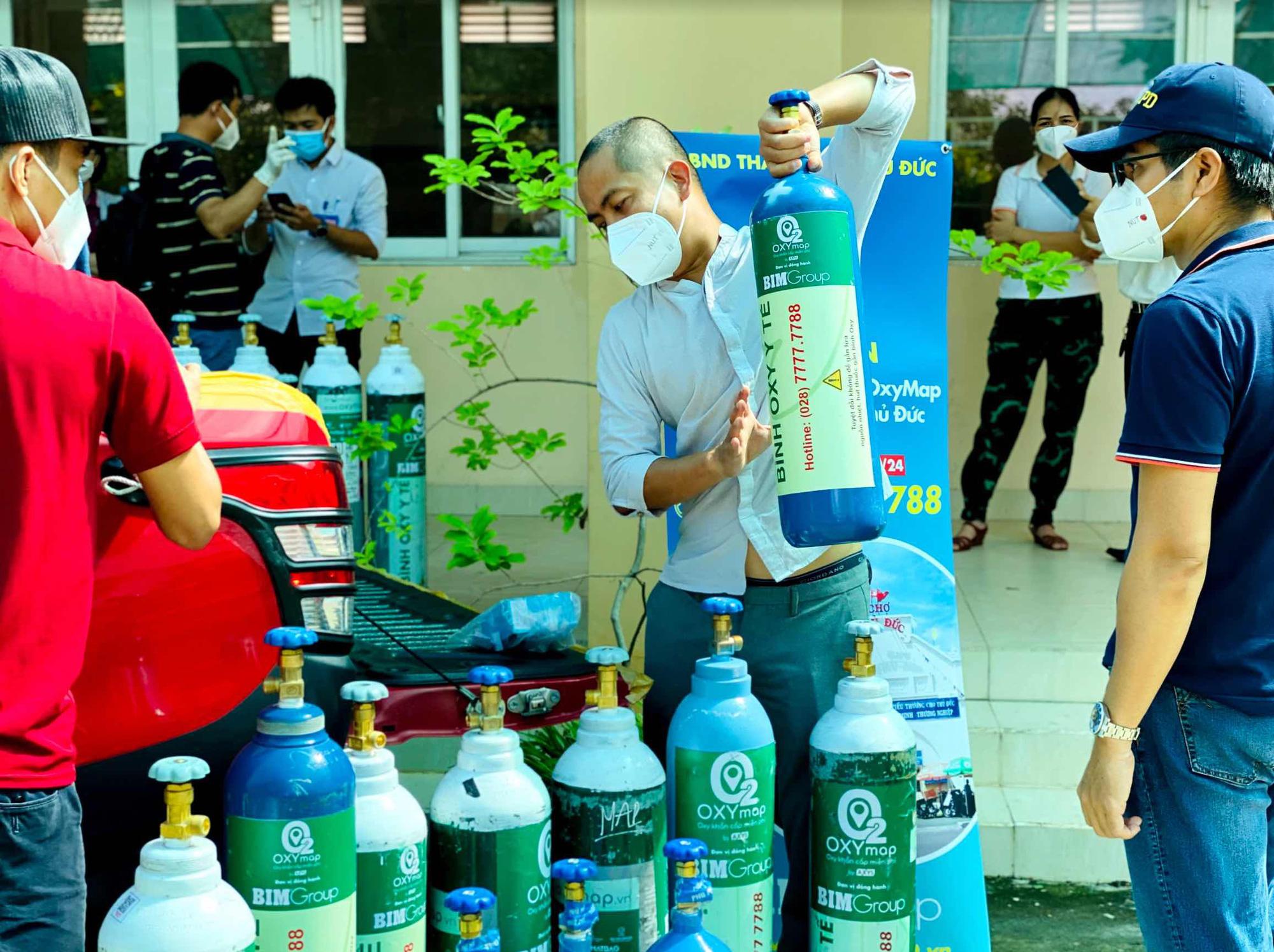 Website đăng ký nhận bình oxy ở TP. Thủ Đức - Ảnh 1.
