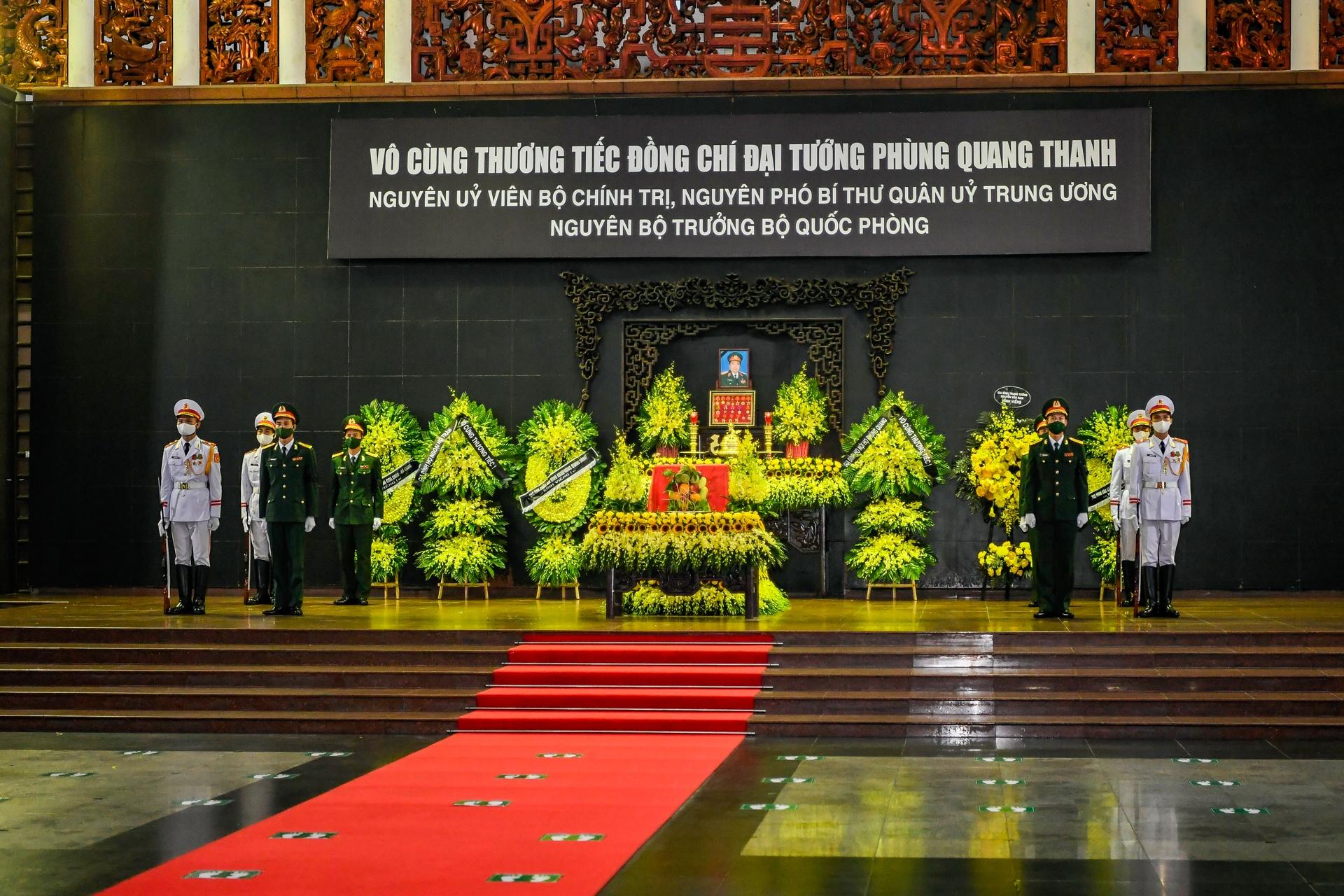 Lễ viếng, truy điệu đại tướng Phùng Quang Thanh - Ảnh 1.