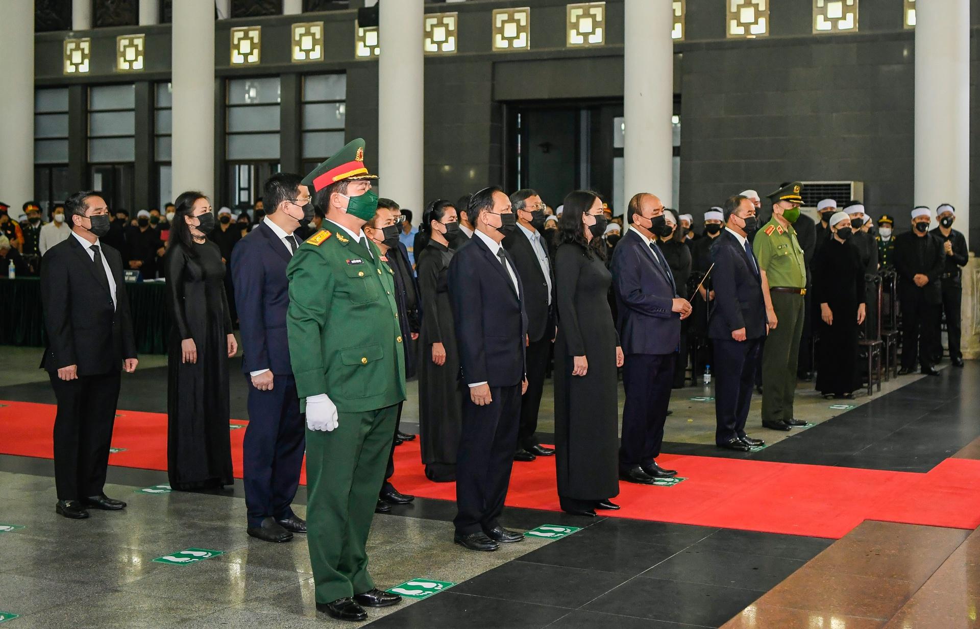 Lễ viếng, truy điệu đại tướng Phùng Quang Thanh - Ảnh 2.