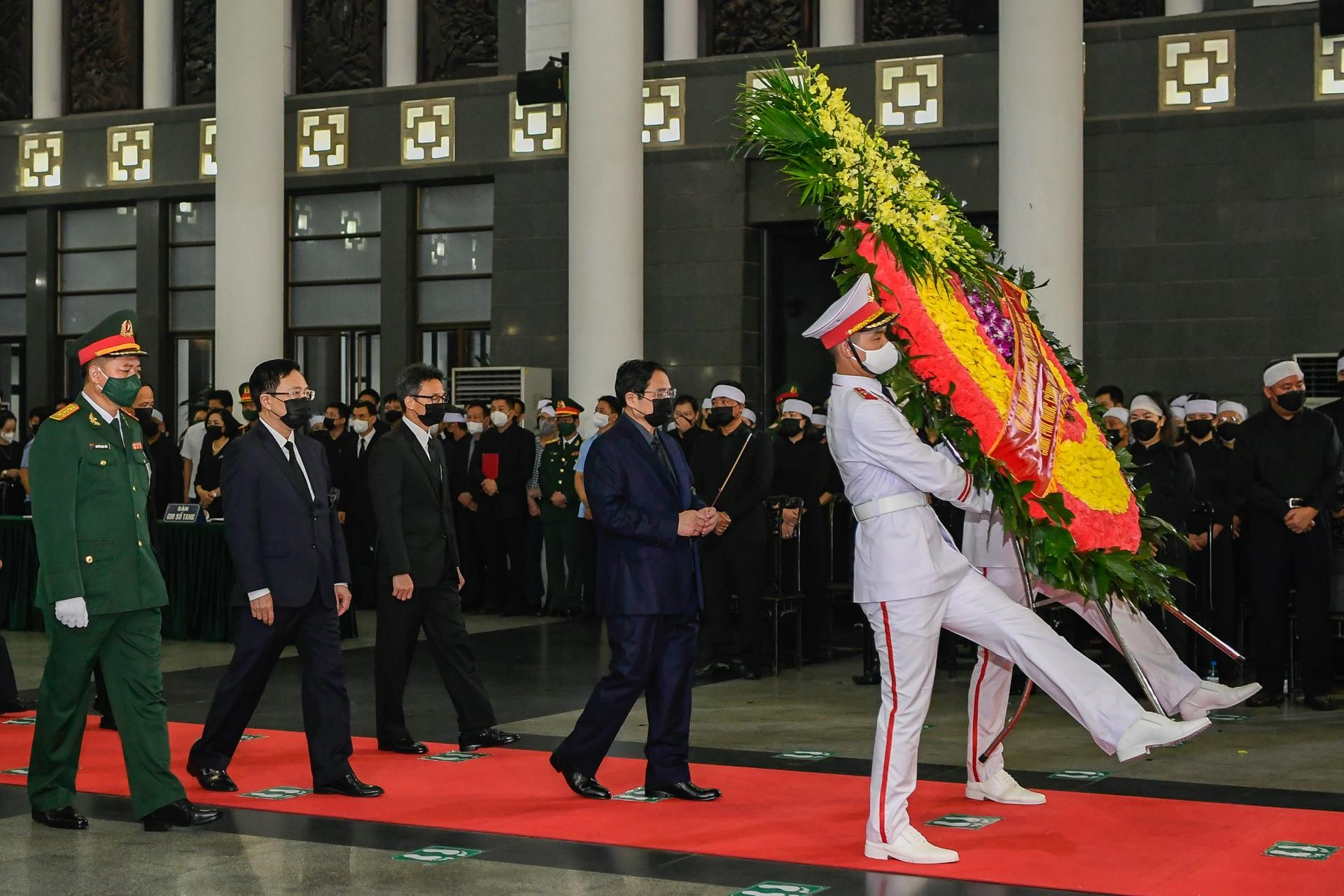 Lễ viếng, truy điệu đại tướng Phùng Quang Thanh - Ảnh 3.