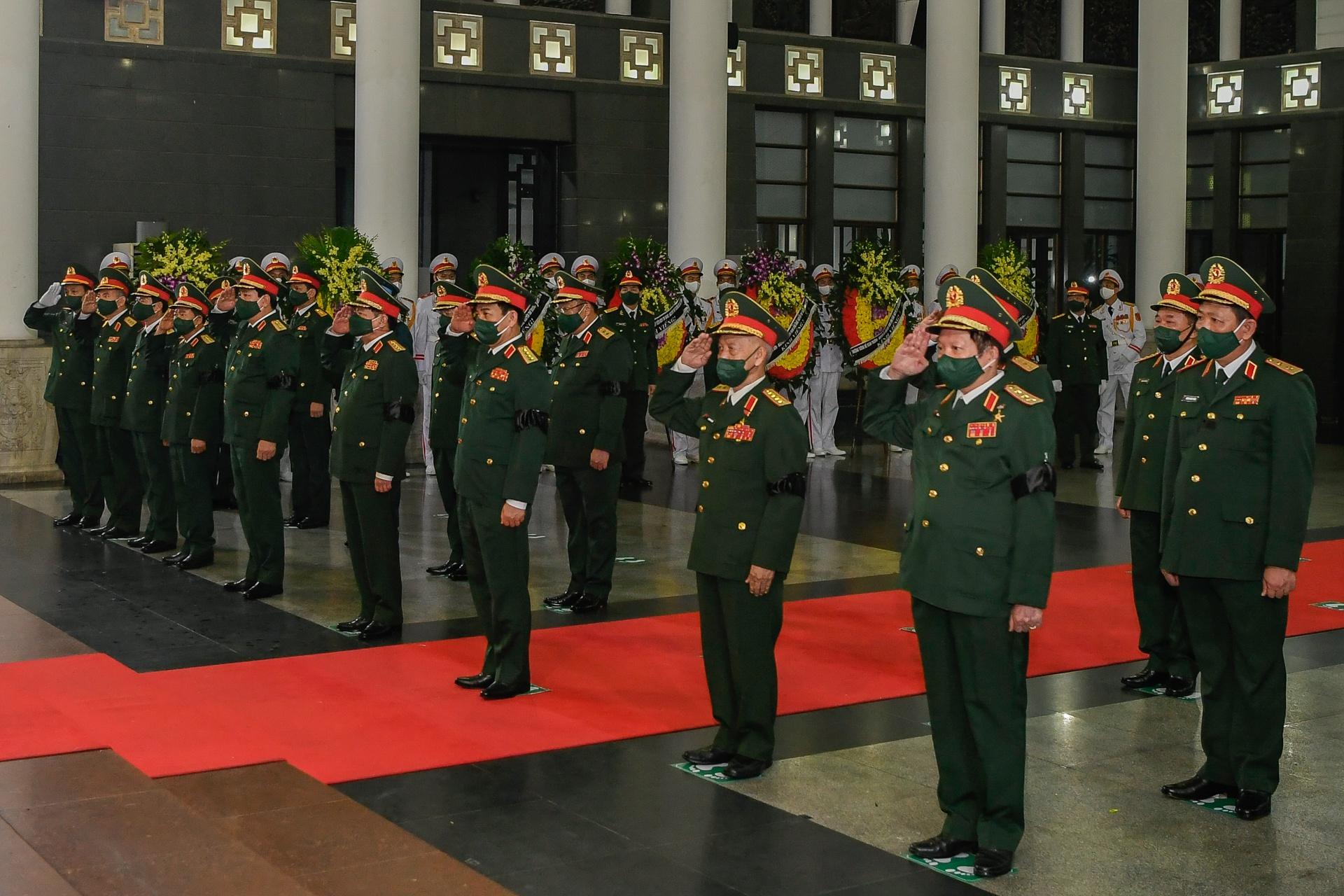 Lễ viếng, truy điệu đại tướng Phùng Quang Thanh - Ảnh 5.