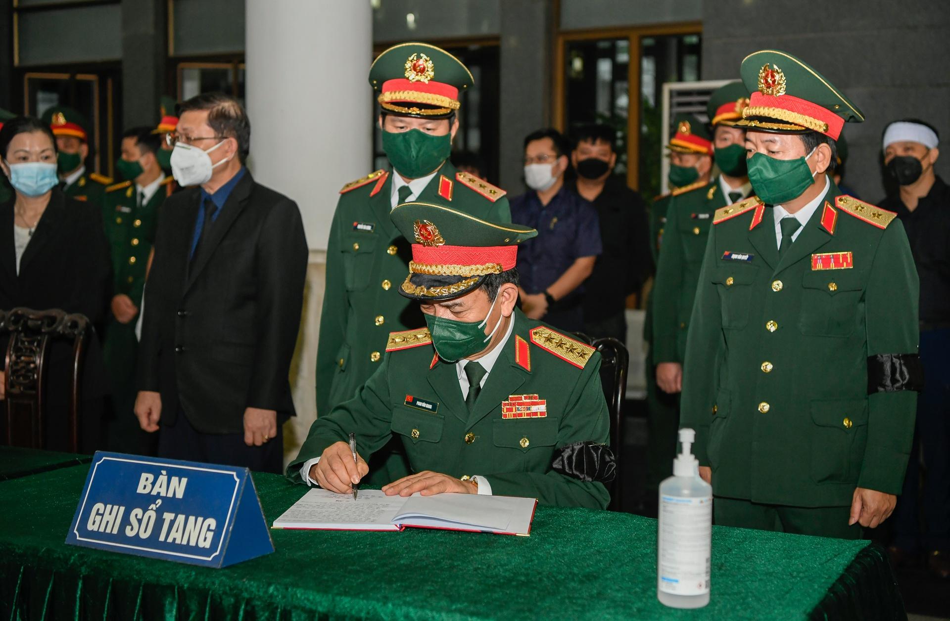 Lễ viếng, truy điệu đại tướng Phùng Quang Thanh - Ảnh 6.