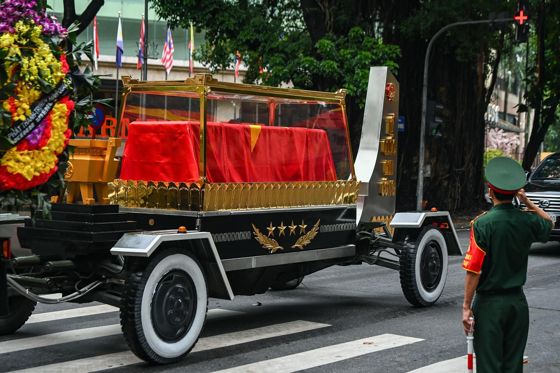 Lễ viếng, truy điệu đại tướng Phùng Quang Thanh - Ảnh 8.