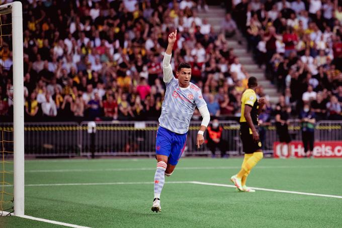 Kết quả Young Boys 2-1 Man United: Ronaldo ghi bàn, MU vẫn thua đau - Ảnh 1.