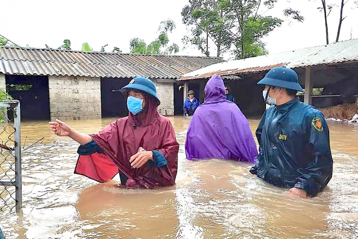Nghệ An di dời dân khẩn cấp khi có gần 700 nhà dân bị ngập do mưa lũ - Ảnh 3.