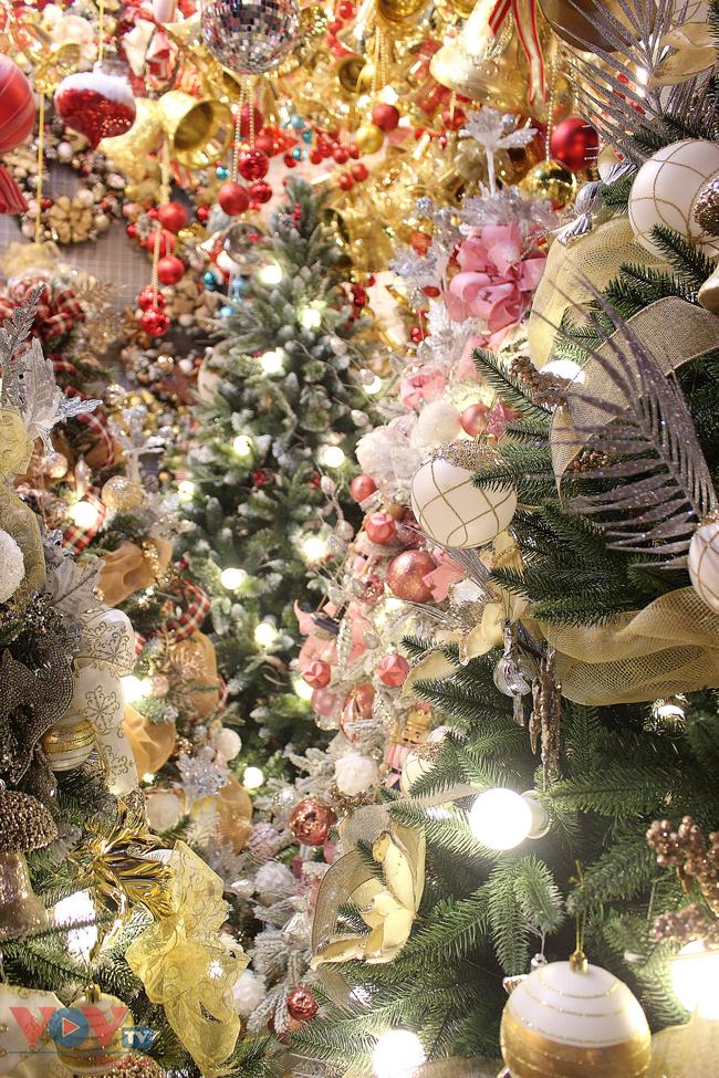 Rực rỡ sắc màu đón Giáng Sinh trên phố Hàng Mã - Ảnh 14.