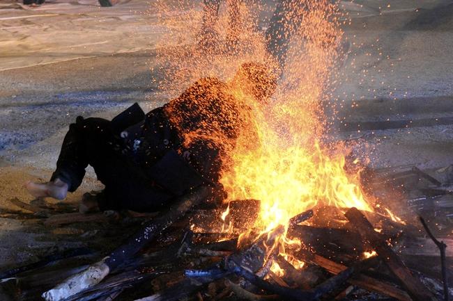 Độc đáo tục nhảy lửa của người Dao đầu bằng Lai Châu - Ảnh 14.