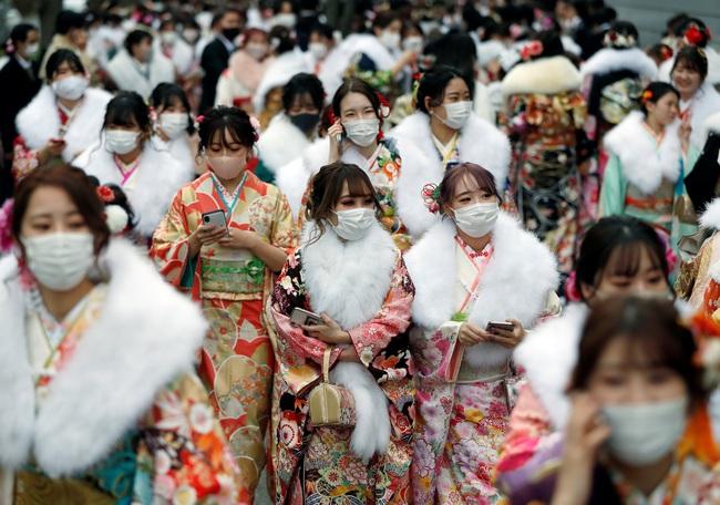 Ngày duy nhất trong năm kimono ngày lễ của phụ nữ chưa chồng đồng loạt hiện diện trên khắp Nhật Bản  - Ảnh 7.