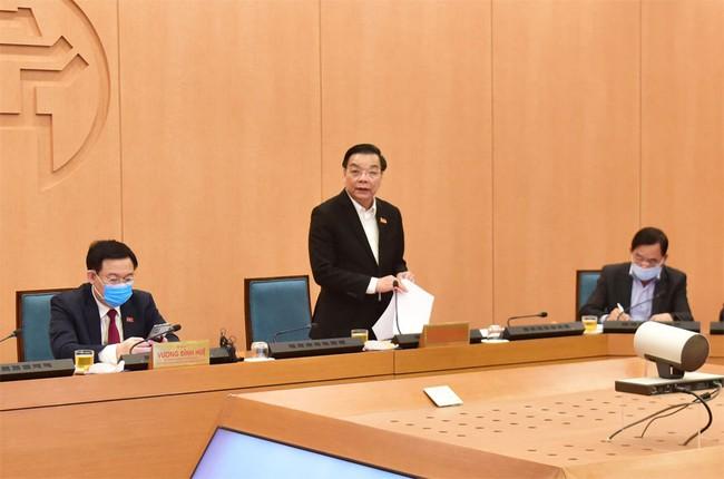 Chủ tịch UBND thành phố Hà Nội ra Công điện về phòng, chống dịch Covid-19 - Ảnh 1.
