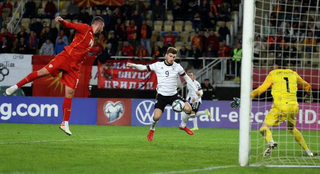 Kết quả Bắc Macedonia 0-4 Đức: Die Mannschaft giành vé đầu tiên dự World Cup 2022 - Ảnh 1.