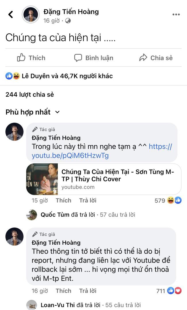MV Sơn Tùng M-TP 'bốc hơi', Thùy Chi và ViruSs vẫn tranh thủ PR clip cover 'Chúng ta của hiện tại' - Ảnh 4.