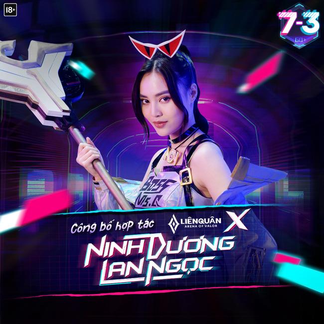 Liên Quân Mobile 'chơi lớn' khi đưa ngọc nữ Ninh Dương Lan Ngọc vào game! - Ảnh 1.