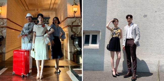 Cách chụp ảnh giúp mỹ nhân Hàn cao 1,6m nhìn như siêu mẫu 1,8m - Ảnh 2.