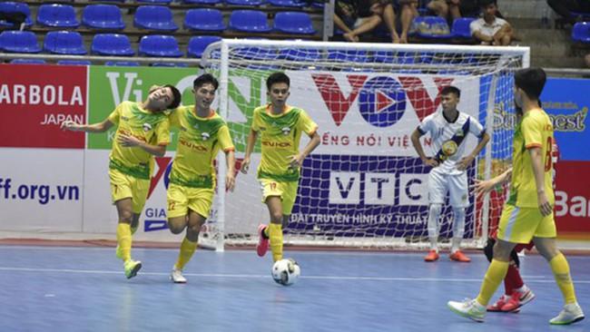 Vòng 3 VCK giải Futsal HDBank VĐQG 2021: Sahako tạm chiếm ngôi đầu  - Ảnh 1.
