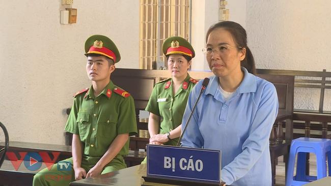 Bị can Đào Thanh Tâm trong phiên phúc thẩm hôm nay.jpg