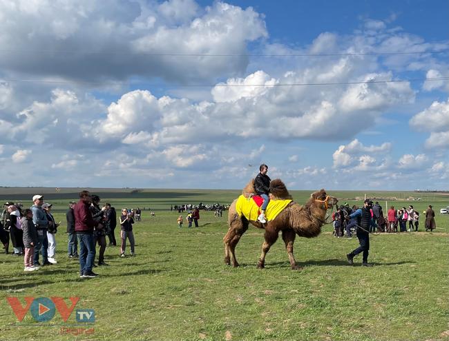 Hoà cùng sắc màu thảo nguyên Kalmykia tại lễ hội hoa tulip - Ảnh 8.