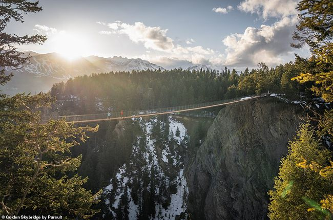 Những cây cầu treo đi bộ ngoạn mục trên thế giới - Ảnh 4.