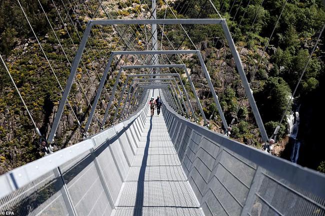 Bồ Đào Nha khánh thành cầu treo đi bộ dài nhất thế giới  - Ảnh 5.