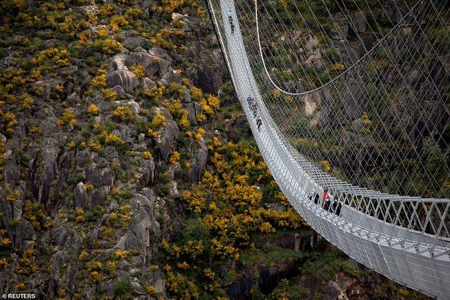 Bồ Đào Nha khánh thành cầu treo đi bộ dài nhất thế giới  - Ảnh 6.