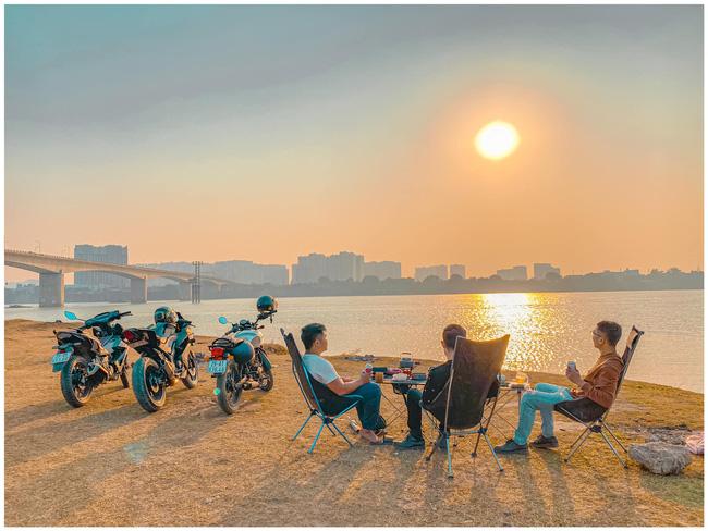 Những địa điểm ngắm trọn hoàng hôn ở Hà Nội - Ảnh 3.