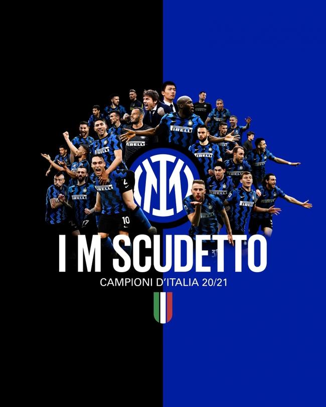 Vòng 34 Serie A: Inter Milan đăng quang sớm 4 vòng đấu - Ảnh 1.