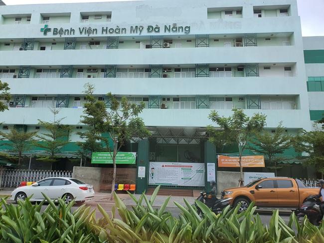 Phong tỏa bệnh viện Hoàn Mỹ Đà Nẵng vì có ca nghi mắc Covid-19  - Ảnh 1.