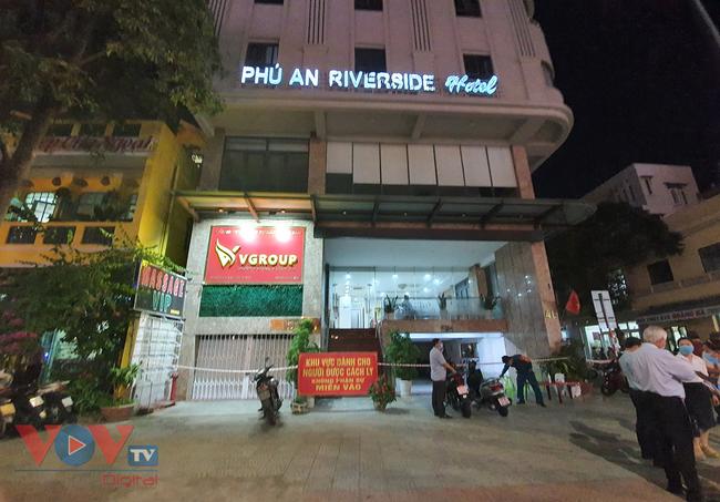 Khách sạn nơi ghi nhận 2 bệnh nhân Covid-19.jpg