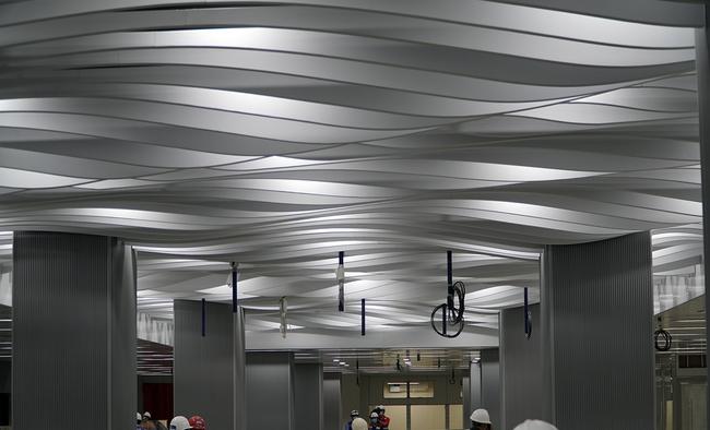 Hoàn thành tầng B1 ga Ba Son của tuyến metro số 1 tại TPHCM - Ảnh 3.