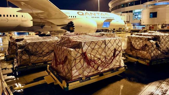 Australia vận chuyển thiết bị y tế tới Ấn Độ - Ảnh 1.