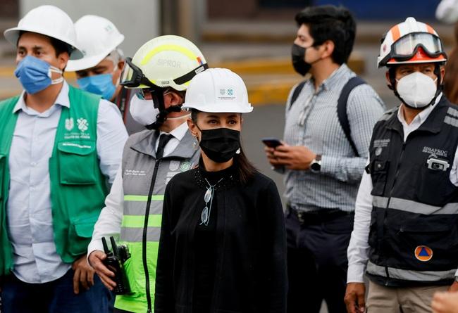 Mexico: Số người thiệt mạng trong vụ sập đường sắt trên cao tiếp tục tăng, Chính phủ tuyên bố quốc tang - Ảnh 4.